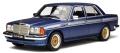[予約]otto mobile(オットモビル) 1/18 メルセデスベンツ W123 AMG(ブルー/ホワイトストライプ)  世界限定: 1,750個