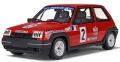 [予約]otto mobile(オットモビル) 1/18 ルノー 5(サンク) GT ターボ クーペ(レッド/レーシングデカール)