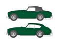 [予約]OXFORD (オックスフォード) 1/43 アストン マーチン DB2 MKII 2台セット Saloon and DHC