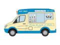 [予約]OXFORD (オックスフォード) 1/43 メルセデス Whitby Mondial アイスクリーム Piccadilly Whip