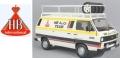[予約]PremiumClassiXXs(プレミアムクラシックス) 1/18 フォルクスワーゲン T3 ボックスワゴン HB Audi team 1980