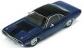 プレミアムXモデル 1/43 ダッジ チャレンジャー R、T 1970 メタリックブルー、ブラックルーフ