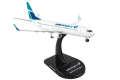 [予約]POSTAGE STAMP 1/300 737-800 ウエストジェット航空 新塗装