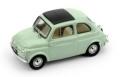 [予約]BRUMM(ブルム) 1/43 フィアット 500D クローズ 1960-1965 ライトグリーン インテリア:ベージュアイボリー