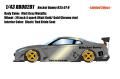 [予約]EIDOLON(アイドロン) 1/43 Rocket Bunny R35 GT‐R (4スポークホイール/マットグレーメタリック) ※限定50台・シリアルナンバー入り