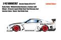 [予約]EIDOLON(アイドロン) 1/43 Rocket Bunny R35 GT‐R (4スポークホイール/ホワイト/カーボンボンネット・カーボンルーフ) ※限定50台・シリアルナンバー入り
