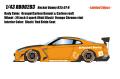 [予約]EIDOLON(アイドロン) 1/43 Rocket Bunny R35 GT‐R (4スポークホイール/オレンジ/カーボンボンネット・カーボンルーフ) ※限定50台・シリアルナンバー入り