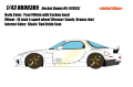 [予約]EIDOLON(アイドロン) 1/43 Rocket Bunny RX-7(FD3S)  パールホワイト (カーボンボンネット) /5 Spork wheel (ブロンズ/キャンディブロンズリム)※限定60台