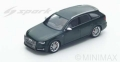 [予約]Spark (スパーク) 1/43 Audi S4 Avant 2016 (Black)