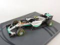 Spark (スパーク)  1/43 メルセデス F1 W07 Hybrid No.6 2nd アブダビ GP 2016 Nico Rosberg - World Champion 2016 ※フィギュア/ピットボード/タイヤマーク付ベース付属