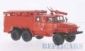 [予約]Start Scale Models 1/43 Ural 375N 消防車 (RUS) AC-40