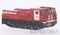 [予約]Start Scale Models 1/43 ATS E12 消防車 (RUS) Gelandekettenfahrzeug