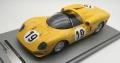 Tecnomodel(テクノモデル) 1/18 フェラーリ 365 P2 チーム エキュリー フランコルシャンル・マン テスト 1966 #19 Jean Beurly's/Leon Dernier/Jacky Ickx
