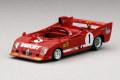 TrueScale(トゥルースケール) 1/43 アルファロメオ T33 TT 12 #1 1975 スパ 1000km J.Ickx/A. Merzario