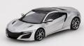 TrueScale(トゥルースケール) 1/43 ホンダ NSX 2017 ソースシルバーメタリック