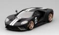 [予約]TrueScale(トゥルースケール) 1/43 フォード GT ヘリテージエディション マットブラック/ホワイトストライプ