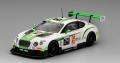 [予約]TrueScale(トゥルースケール) 1/43 ベントレー コンチネンタル GT3 #24 スパ24時間 チームパーカー