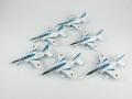 【ポイント交換用 12,960pt】 Gulliver200 1/200 2005 ブルーインパルス T-4 6機セット