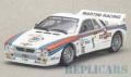 [予約]Whitebox(ホワイトボックス) 1/43 ランチア 037 1983年モンテカルロラリー Martini #1 W. Roehrl/C. Geistdoerfer