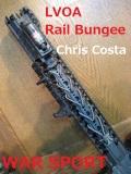 WAR SPORT(ウォースポーツ)  【カスタム・外部パーツ】 LVOA(エルブイオーエー) Rail Bungee(レイルバンジー) Chris Costa(クリス・コスタ)