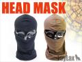 LayLax(ライラクス)  【装備・サバゲー用品・マスク】 HEAD MASK (ヘッドマスク) <布製>