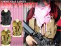 LayLax(ライラクス)  【装備・サバゲー用品・ベスト・女性・子供】 レディース V1 ベスト