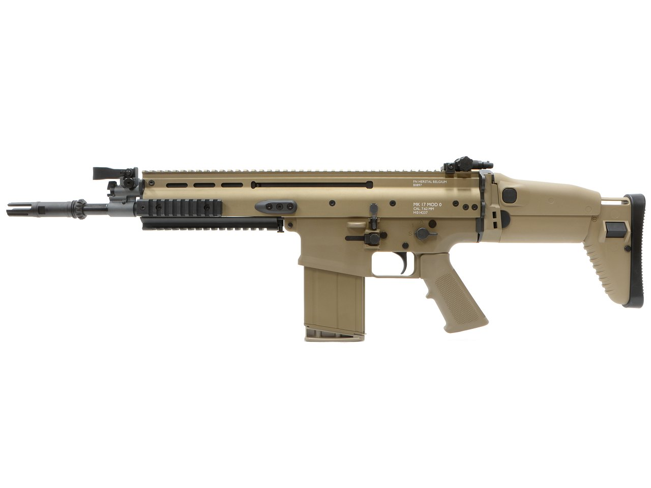 CyberGun FN SCAR-H GBBR (Mk17 JPversion) FDE