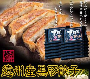 黒豚餃子 168個入(14個×12P)【浜松餃子の五味八珍】