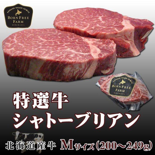 特選牛シャトーブリアン[Mサイズ]200~249g【加熱用】【会員登録で5%OFF】