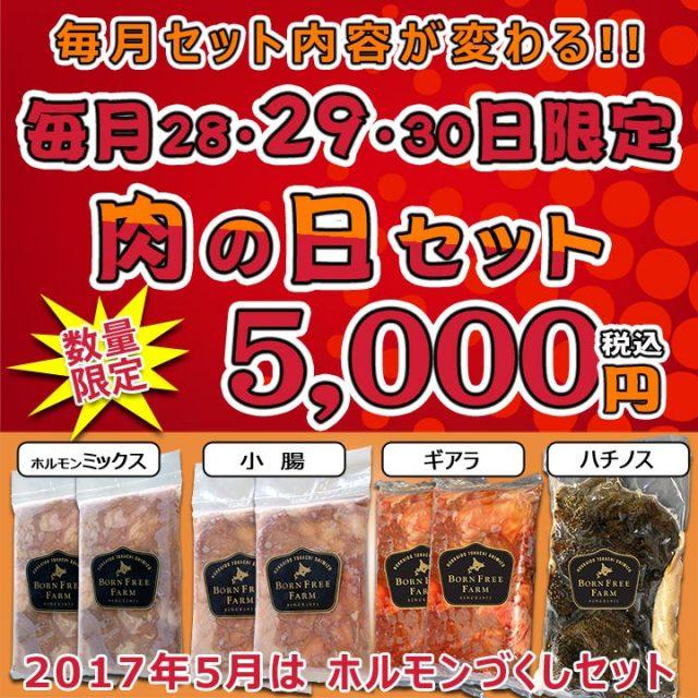 肉の日セット【1705】