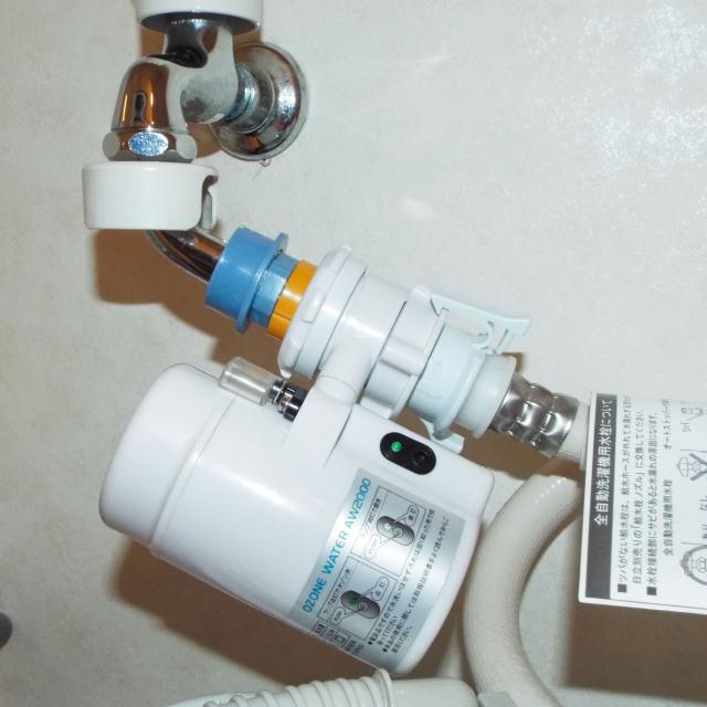 自己発電式オゾン水生成器 洗濯機用
