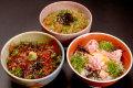 【産地直送】境港の海鮮丼3種セット(各2人前)【M3-6】