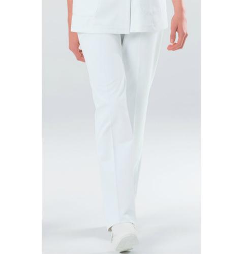 HOS4903 ナガイレーベン  女子パンツ [白衣 医療用 看護師 ナース 女性用  パンツ ズボン ホワイト]