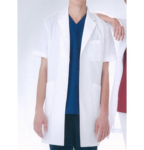 KEX5112 ナガイレーベン(Naway)KexStar男子半袖シングル診察衣