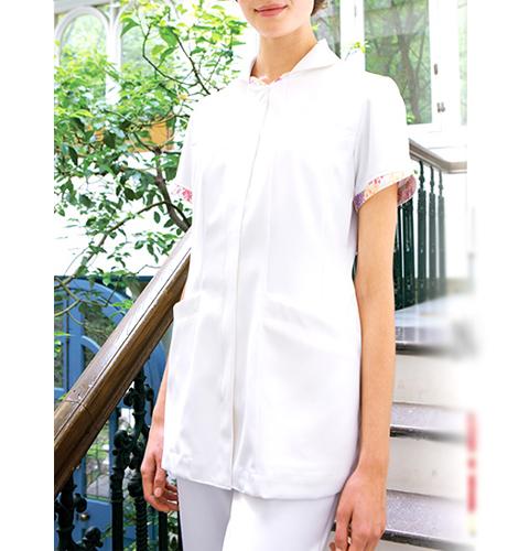 LW801 LAURA ASHLEYナースジャケット[モンブラン 白衣 医療用 女性用 レディース]送料無料