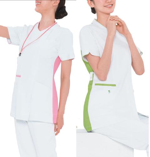 LX4082 ナガイレーベン 女子 チュニック 半袖 [白衣 医療用 看護師 ナース 女性用 チュニック  送料無料]