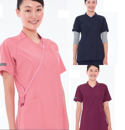 ML5362 ナガイレーベン 女子スクラブ [白衣 医療用 看護師 ナース 女性用 チュニック スクラブ ]