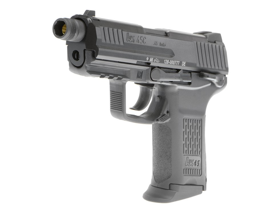 Umarex HK45 Compact Tactical ガスブローバックピストル Cerakote Limited (BK)