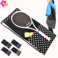 HannaHula(ハンナフラ) 収納ポケット付テニスラケットケース