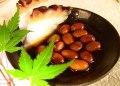 燻製大豆の醤油漬け