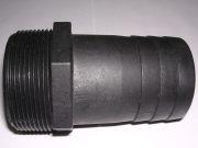 サニーカップT型 38A・1.5インチ(樹脂ホースタケノコ/プラスチックたけのこ)ホース口径40A用樹脂製ニップル