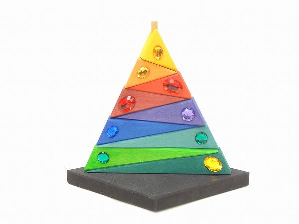 グリムス社(GRIMM'S) タワー積み木・ピラミッド