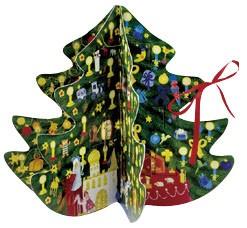 立体アドベント・クリスマスツリー