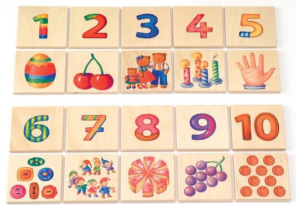 カードゲーム・4,5歳~ セレクタ社(Selecta) 数のゲーム