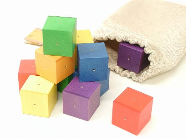 形を楽しむおもちゃ ジーナ社(SINA) ジーナ社(SINA)ベビーキューブ