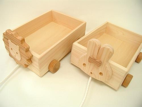 木遊舎  どうぶつ箱車