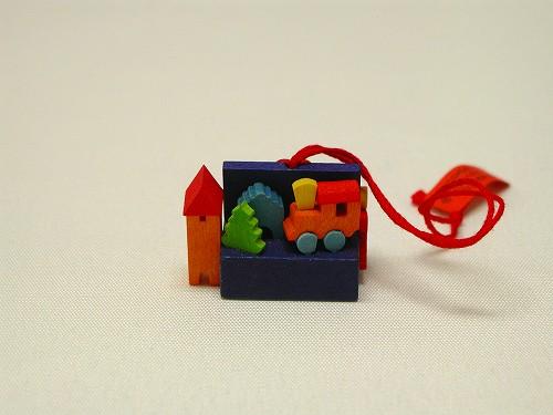 クリスマスオーナメント グラウプナー社(Graupner) オーナメント おもちゃ箱