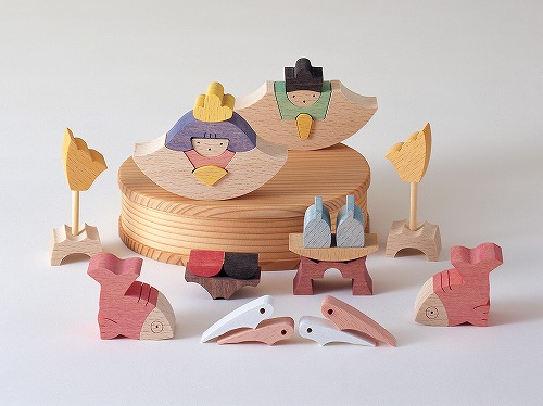 雛人形 遊プラン・小黒三郎 鯛びな 《納期1年以上》