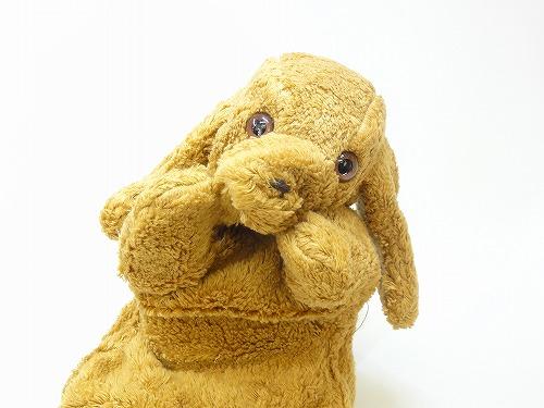 布のおもちゃ コットン手人形 いぬ【動画あり】