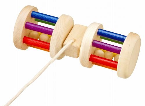 引っぱるおもちゃ プラウンハイマー社(Praunheimer) くるくるレインボー